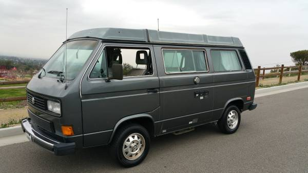 1987 vw vanagon westfalia camper for sale in los angeles ca. Black Bedroom Furniture Sets. Home Design Ideas
