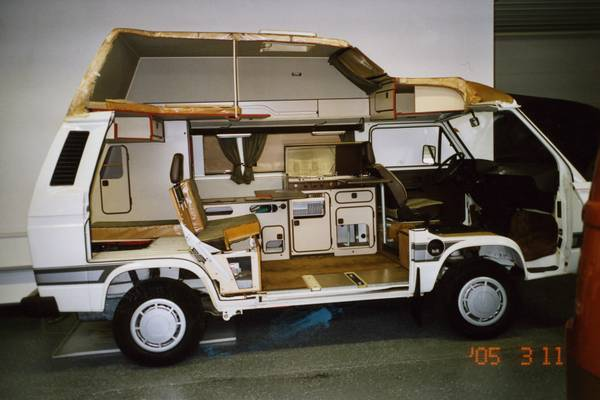 1990 vw vanagon westfalia camper for sale in seattle wa. Black Bedroom Furniture Sets. Home Design Ideas
