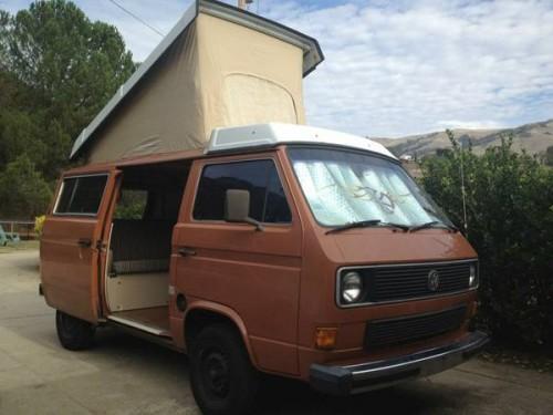 1984 Vw Vanagon Westfalia Camper For Sale In Los Gatos Ca