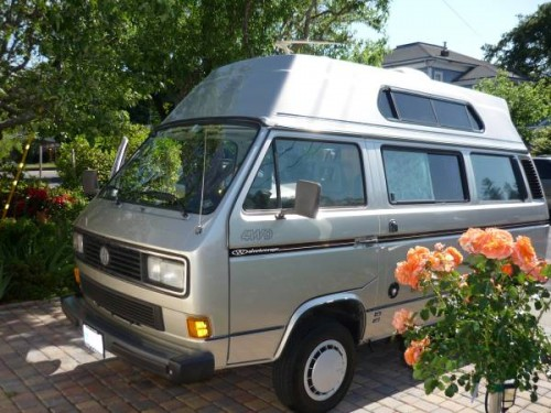 1990 vw vanagon syncro camper for sale in petaluma ca. Black Bedroom Furniture Sets. Home Design Ideas