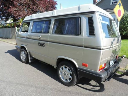 1991 vw vanagon westfalia camper for sale in seattle wa. Black Bedroom Furniture Sets. Home Design Ideas