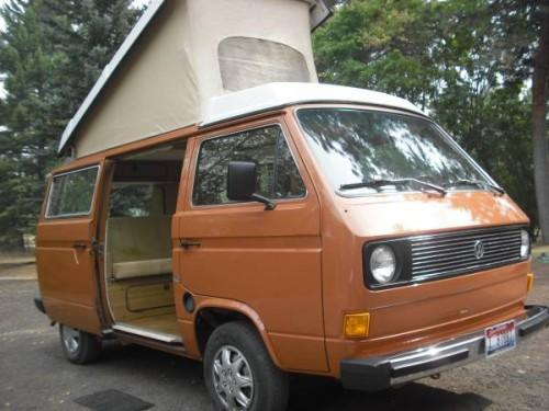 1981 vw vanagon westfalia camper for sale in grangeville id. Black Bedroom Furniture Sets. Home Design Ideas