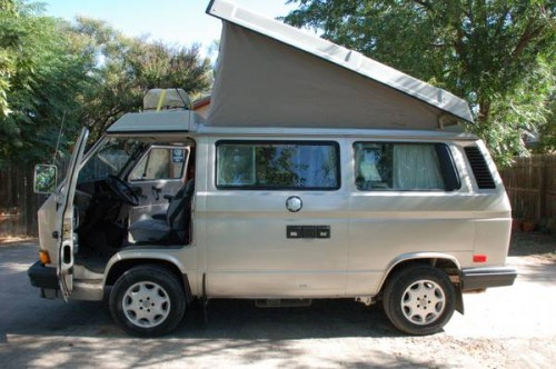 1991 vw vanagon westfalia camper for sale in abilene tx. Black Bedroom Furniture Sets. Home Design Ideas