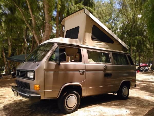 vw vanagon camper for sale in hawaii. Black Bedroom Furniture Sets. Home Design Ideas