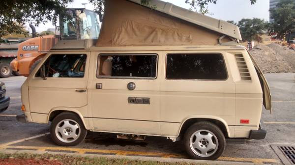 1980 vw vanagon westfalia camper for sale in san gabriel ca. Black Bedroom Furniture Sets. Home Design Ideas