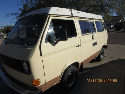 1981 VW Vanagon Westfalia Camper For Sale in Tempe, AZ
