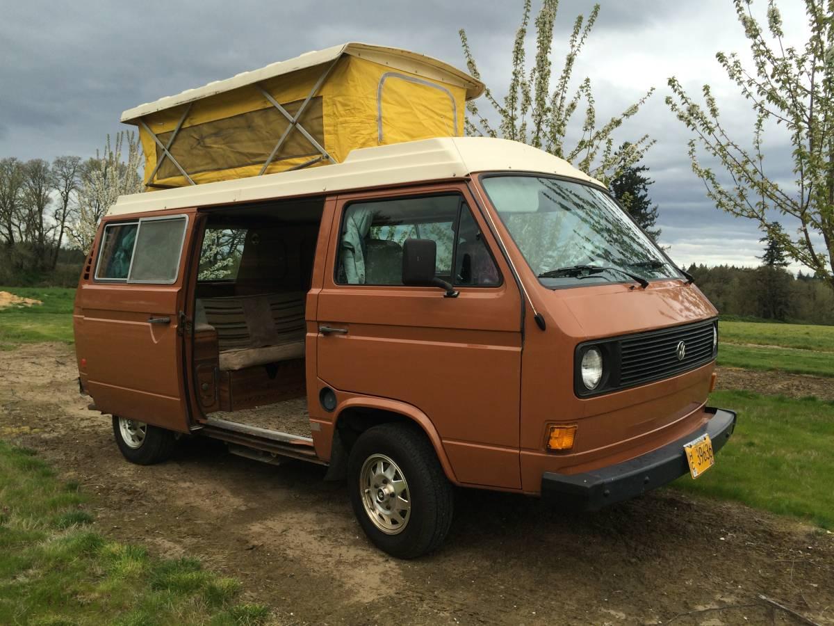 1980 Jefferson OR VW Vanagon Riviera Camper