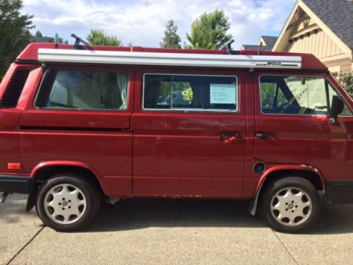 1989 vw vanagon westfalia camper for sale in kelowna bc. Black Bedroom Furniture Sets. Home Design Ideas